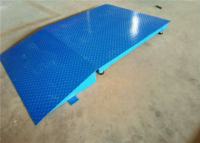 Truck Floor Scale With Ramp Frameless U Beam Structure Strong Bearing Capacity