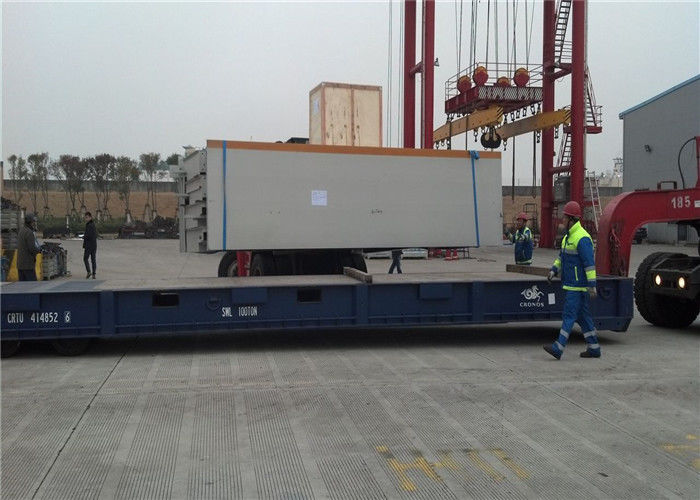 Electronic Pitless Type Weighbridge High Definition Indicator 10 - 120T Weighing Range