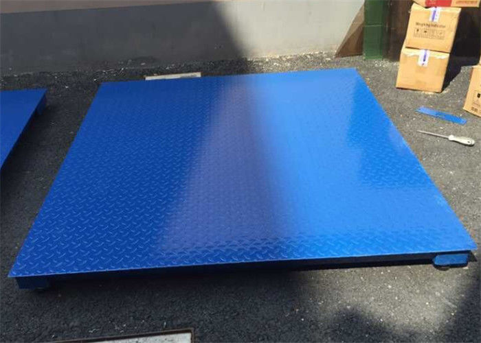 1.2*1.5m Industrial Pallet Weighing Scales 3 Ton 5mm Steel Plate Materials