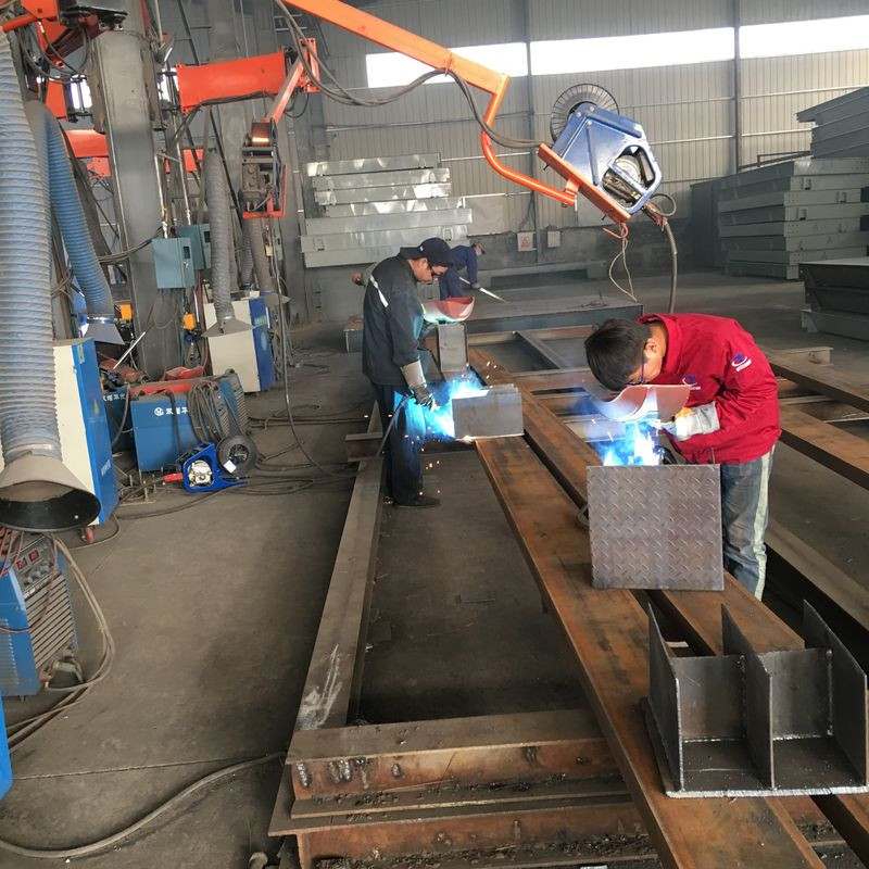 Car / Truck 80 Ton Weighbridge Durable H400 Steel For Longitudinal Beams