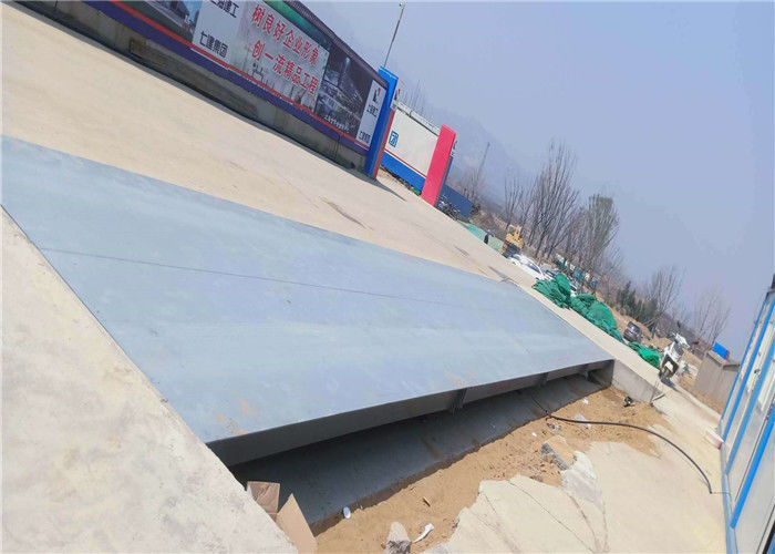Steel Plate Truck Weighing Equipment For Road Overloading Detection Station